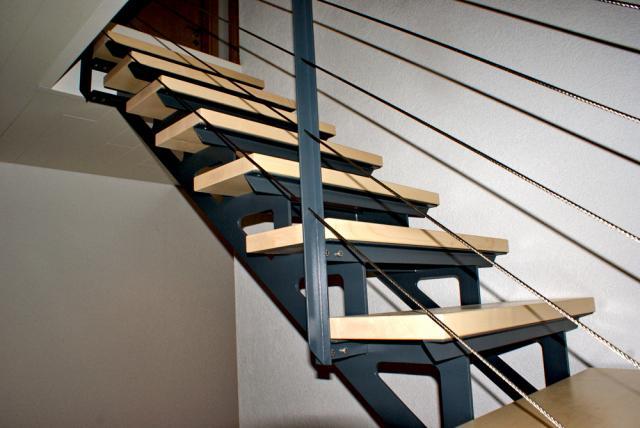 escalier 1 4 tournant. Black Bedroom Furniture Sets. Home Design Ideas