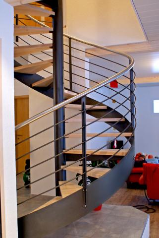 escalier helicoidal suisse