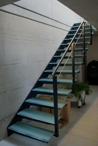 Escalier m tallique for Calcul pour un escalier droit