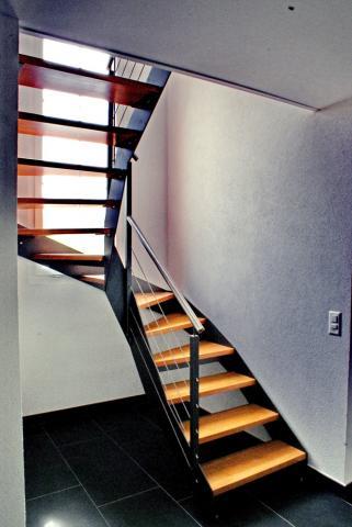 escalier helicoidal demi tour